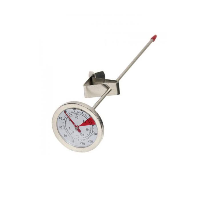Термометр аналоговый с длинным щупом и клипсой