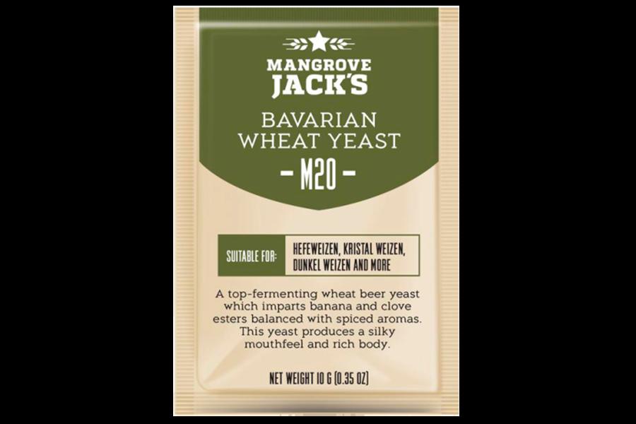 """Пивные дрожжи Mangrove Jack's """"Bavarian Wheat M-20"""", 10 г"""