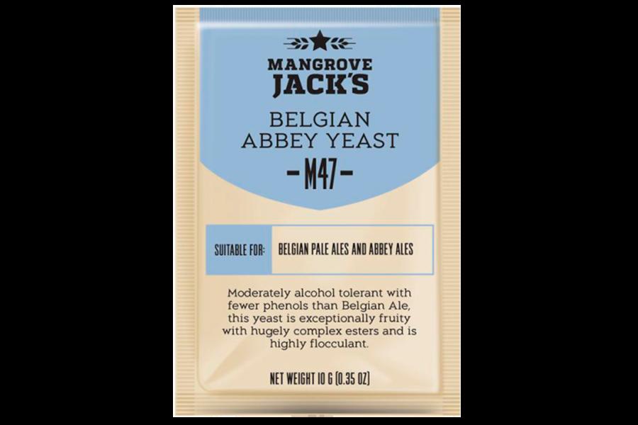 "Пивные дрожжи Mangrove Jack's ""Belgian Abbey M47"", 10 г"