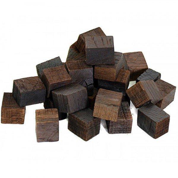 Кубики дубовые(сильная обжарка) Кавказский дуб 50 грамм Россия