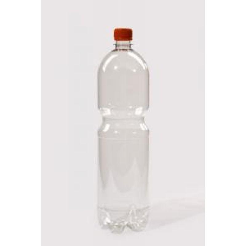 ПЭТ бутылка 1,5л d=28 с крышкой Купол