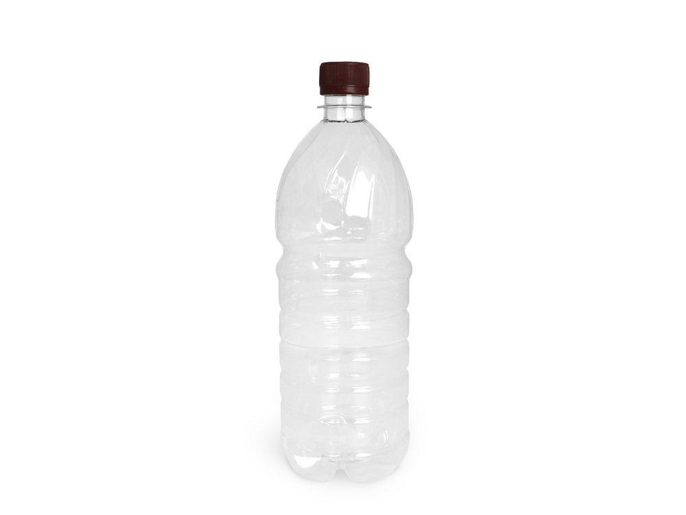 ПЭТ бутылка 1,0л. d=28 с крышкой Купол
