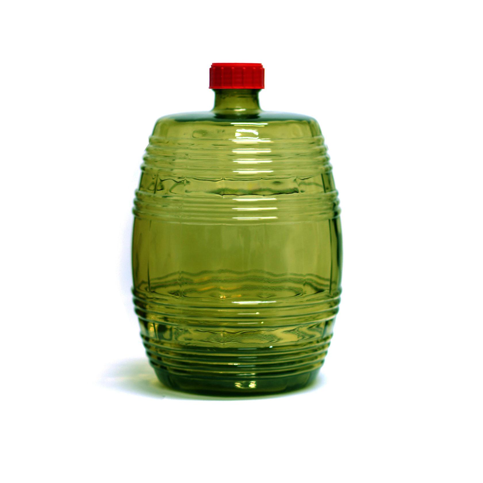 """Бутыль """"Барилле"""" зеленая 10 л."""