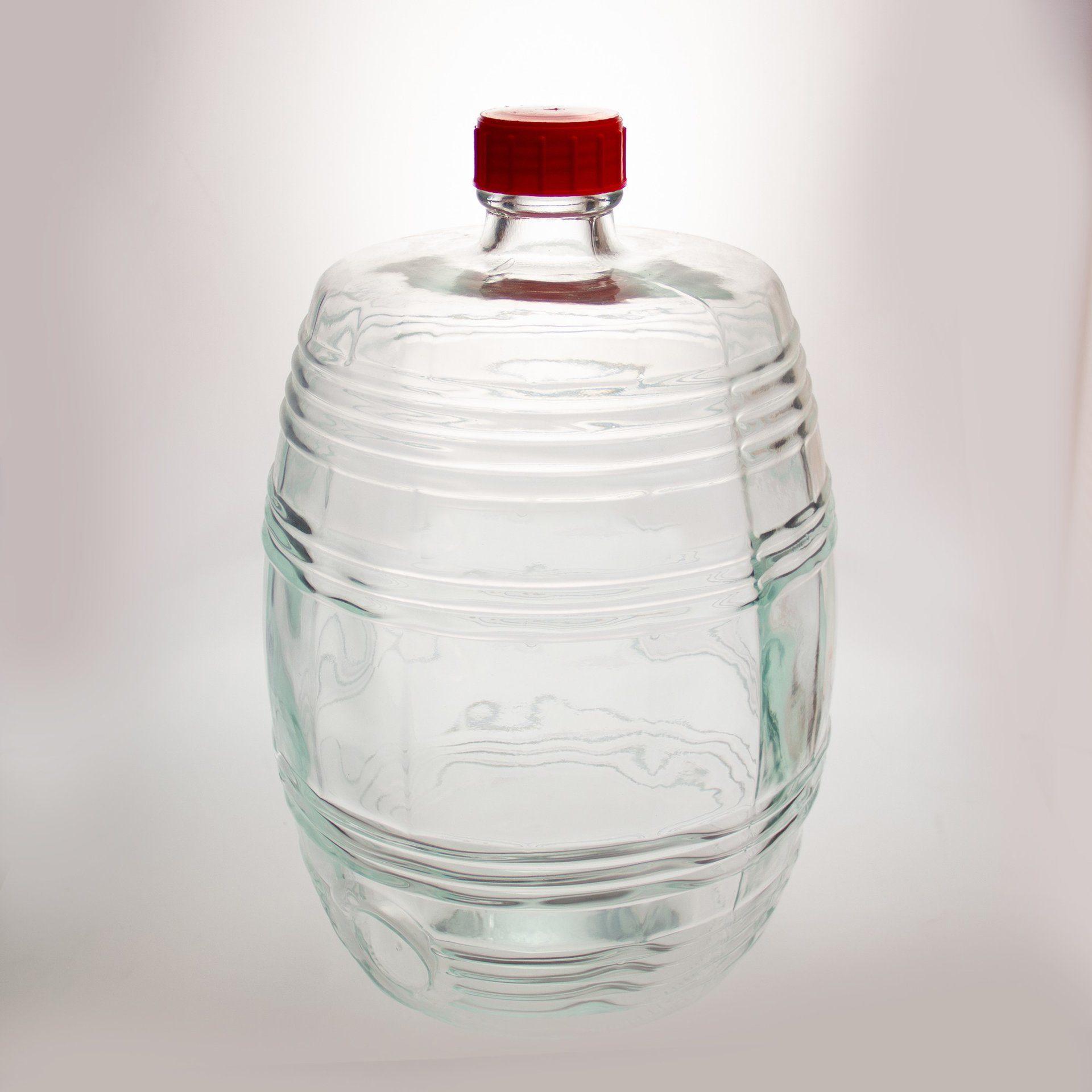 "Бутыль ""Барилле"" прозрачная 10 л."