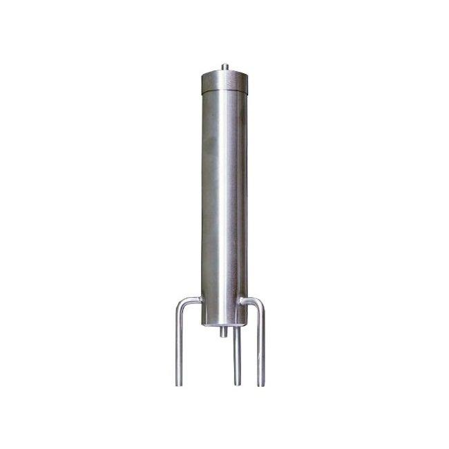 Угольная колонна для фильтрования (нерж.сталь)