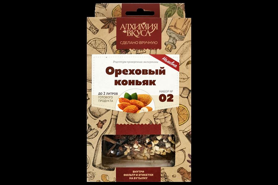 """Набор Алхимия вкуса наливка """"Ореховый коньяк"""", 50 г"""