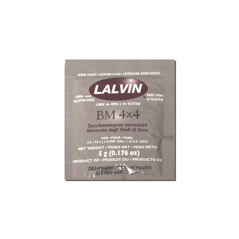 Винные дрожжи Lalvin BM 4*4, 5 гр